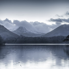 Catbells by Adam Lang - Landscapes Waterscapes ( hills, cumbria, catbells, lake, lake district )