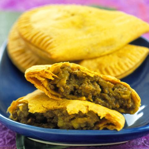 Zesty Jamaican Beef Patties Made At Home
