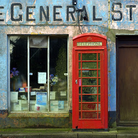 Last Post at the General Stores by Alex Graeme - City,  Street & Park  Markets & Shops ( shop, wales, general stores )