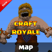 Download Map clash royale for Minecraft APK to PC