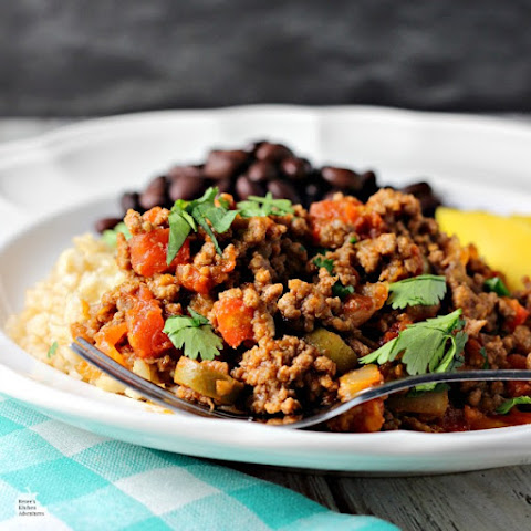 Easy Cuban-Style Beef Picadillo