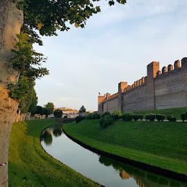 Cittadella, Italy by Dražen Komadina - City,  Street & Park  Historic Districts ( kom@dina, italy, dražen komadina, cittadella )