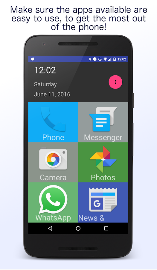 Senior Homescreen Pro Screenshot 2