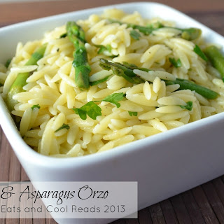Lemon and Asparagus Orzo