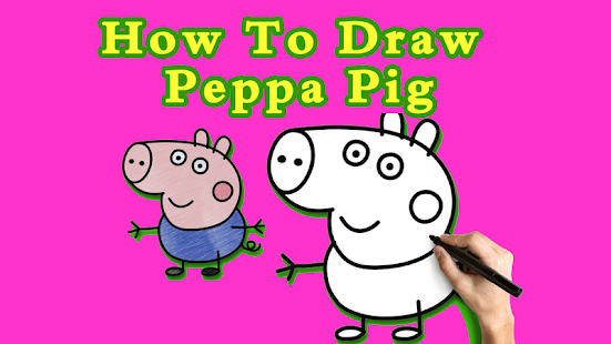How To Draw Pepa Pig - screenshot