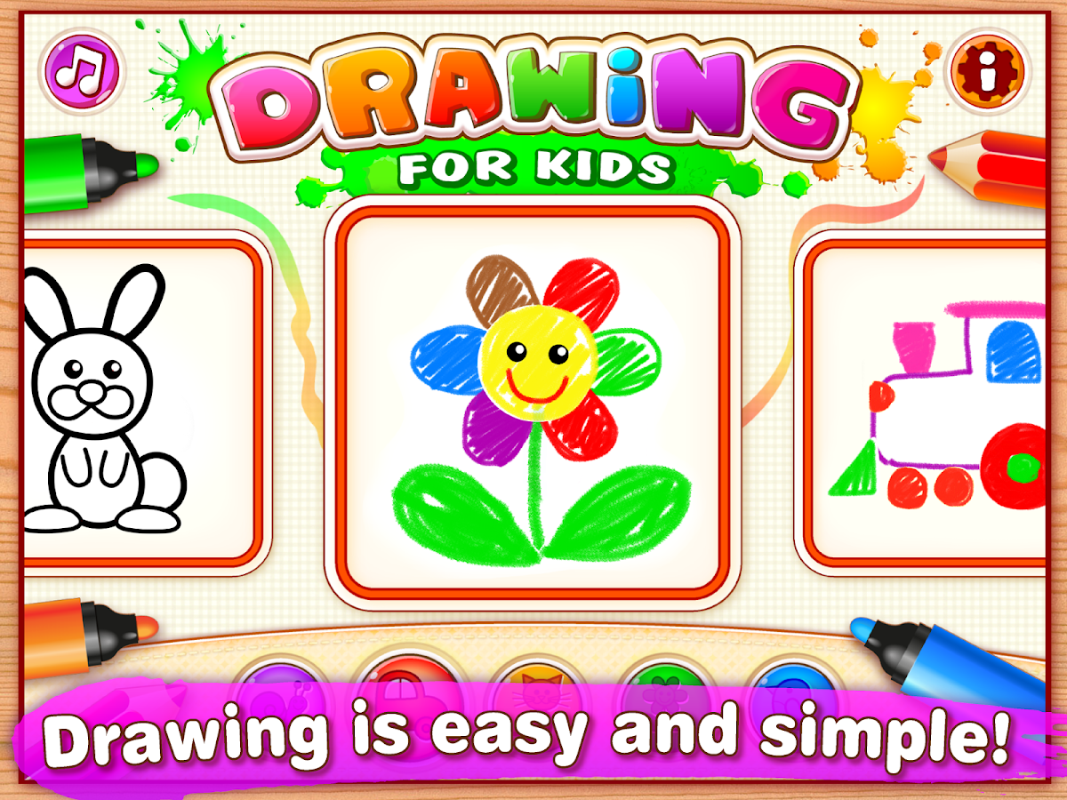 Drawing for Kids & Toddler PRO Screenshot 6