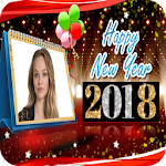 New Year 2018 Photo Frames Icon