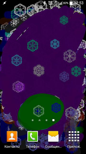 Finger paint - live wallpaper screenshots