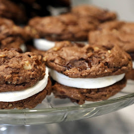Cookies  by ANN CASON - Food & Drink Candy & Dessert ( chocolate, food, pecans, cookies, dessert,  )