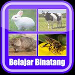 Belajar Membaca Binatang Icon