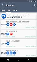 Screenshot of TiempoBus y TRAM Alicante