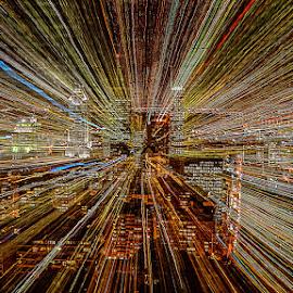 Rhythm of the Metropolis by Dragan Milovanovic - Abstract Patterns (  )