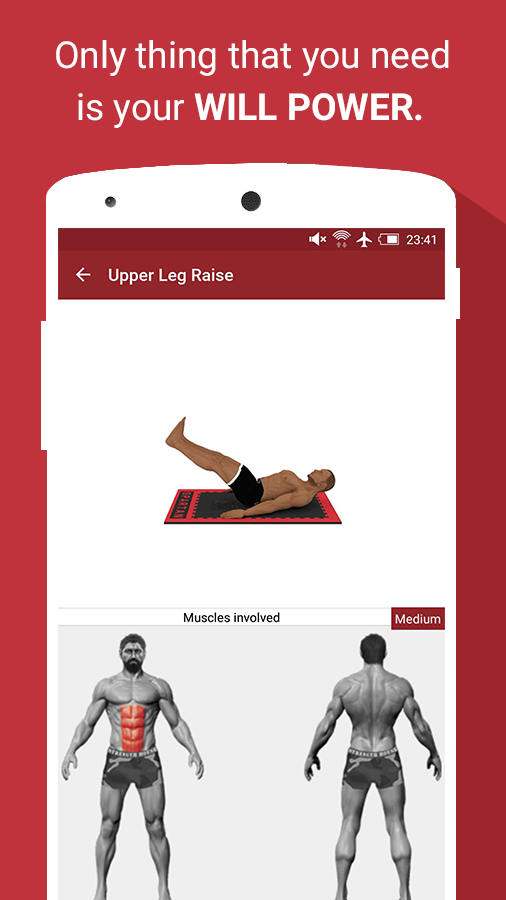 Abs Workouts & Exercises Pro Screenshot 3