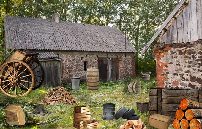 Flucht Spiele - Abandoned Farm House android spiele download