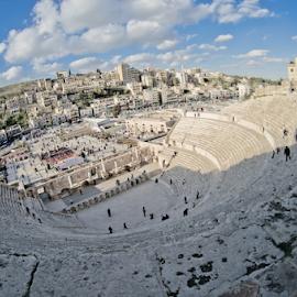 Roman Theater - Amman by Miguel Salgado - Buildings & Architecture Public & Historical
