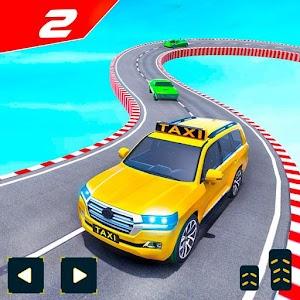 Taxi Car Stunts 2 Games 3D: Ramp Car Stunts Online PC (Windows / MAC)