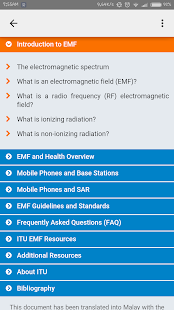 ITU EMF Guide - screenshot