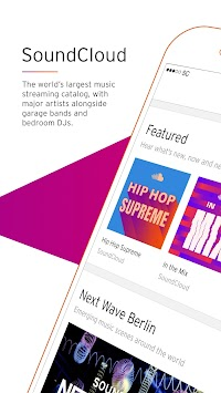 SoundCloud - Musik & Audio APK screenshot thumbnail 1
