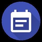 Agenda Widget (Material Design)