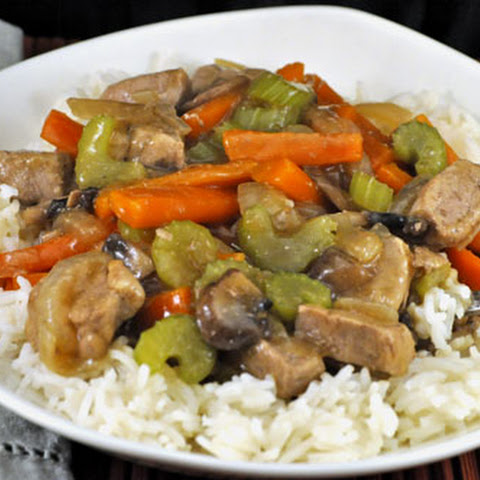 Stir-Fried Pork with Celery