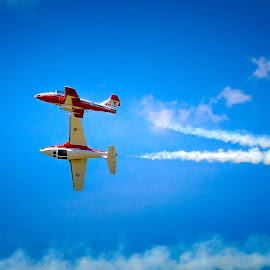 by Ron Meyers - Transportation Airplanes ( waukegan air show )