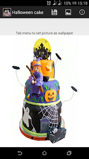 Halloween cake - screenshot