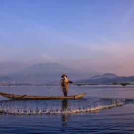 The Fishermen by Agus Sudharnoko - People Portraits of Men