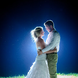 by Morne Kotze - Wedding Bride & Groom