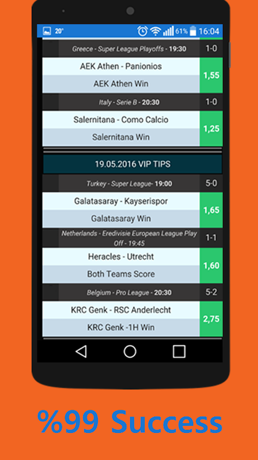 VIP Super: Betting Tips Screenshot 2