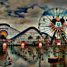 Disneyland by Andrial Kusuma - City,  Street & Park  Amusement Parks