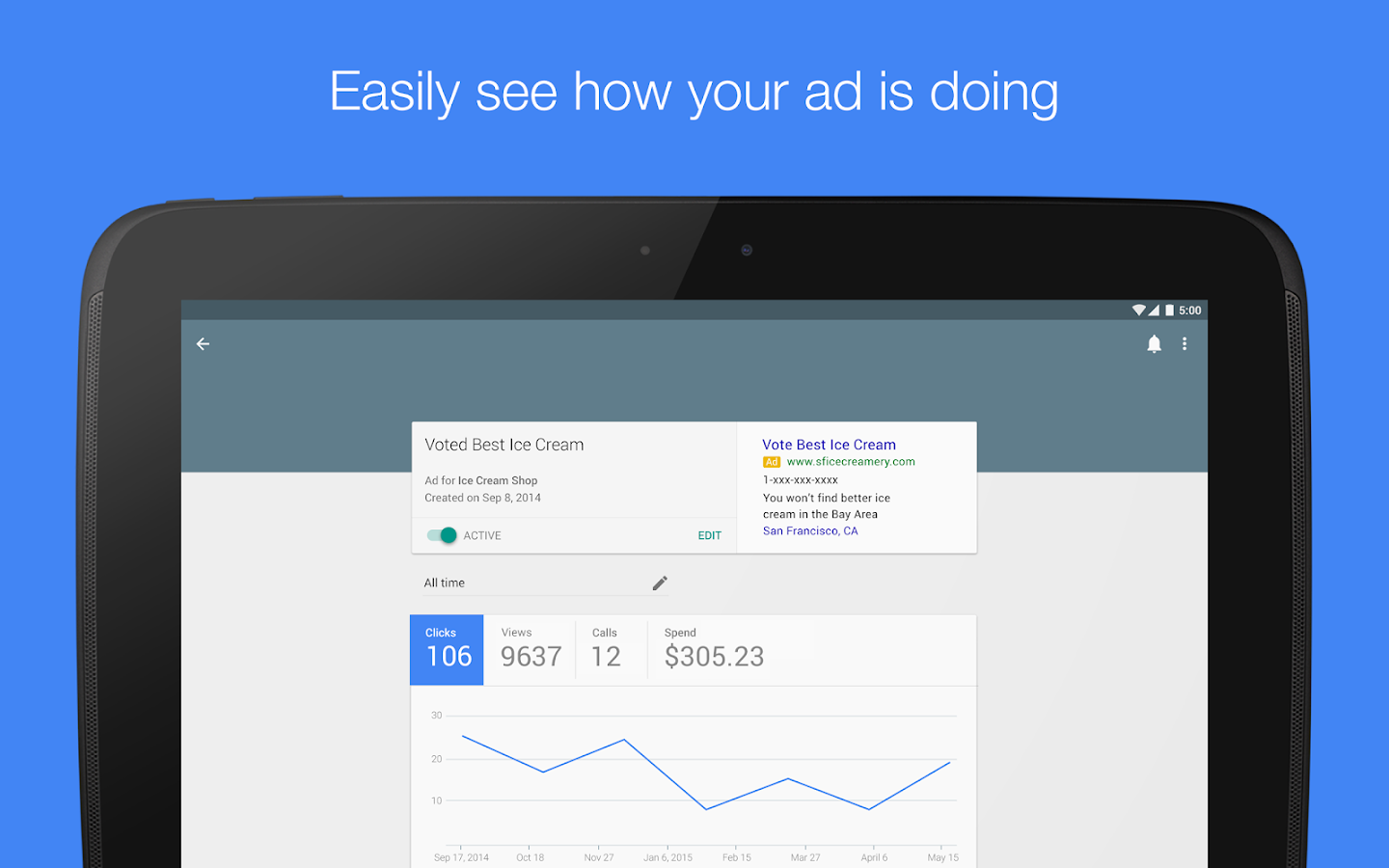 AdWords Express Screenshot 7