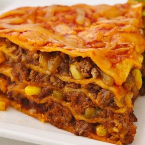 Beef Enchilada Pie