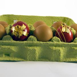 colorful easter eggs by LADOCKi Elvira - Public Holidays Easter ( easter, easter eggs )