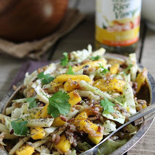 Spicy Cilantro Mango Wild Rice Salad