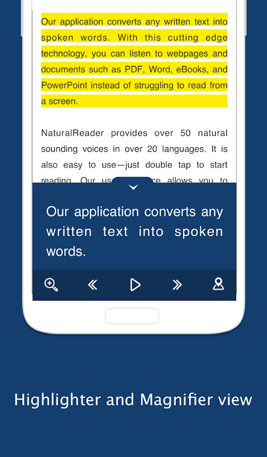Text to Speech - NaturalReader Screenshot 7