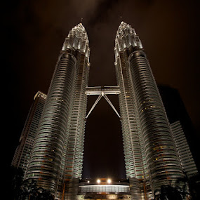 Petronas Twin Towers Kuala Lumpur Malaysia by Sharulfizam Adam - Buildings & Architecture Other Exteriors