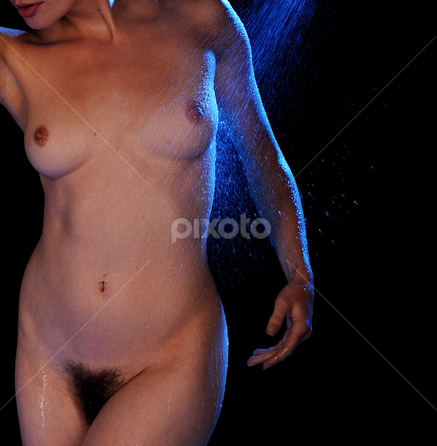 Wet and wild by Vineet Johri - Nudes & Boudoir Artistic Nude ( vkumar, art nude, helen diaz, shower, wet )