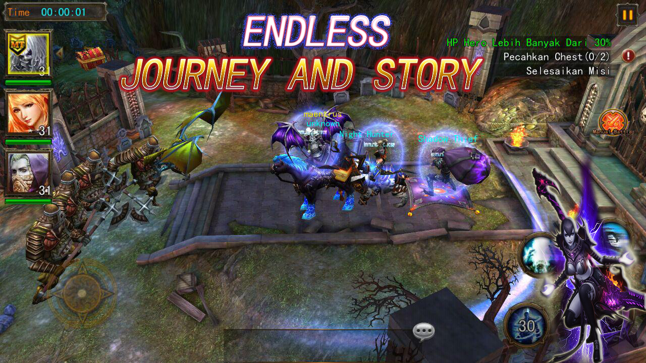 The Exorcists: 3D Action RPG Screenshot 6