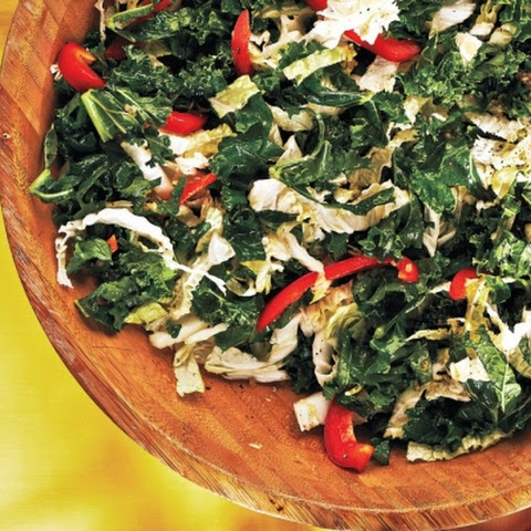 Kale and Cabbage Slaw