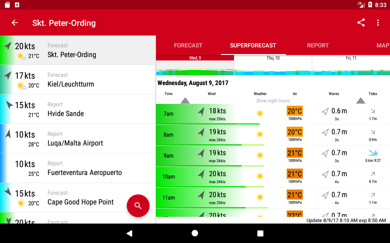 Windfinder Pro Screenshot 12