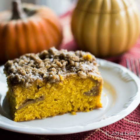 Pumpkin Spice Latte Coffee Cake