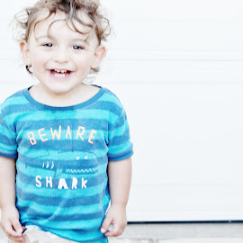 Lincoln  by Brian Melendrez - Babies & Children Babies ( home, lincoln, nephew, curls, smiles )