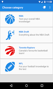 Chedda Sports Trivia - screenshot