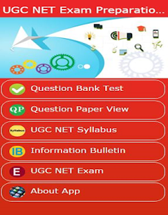 UGC NET Preparation App - screenshot