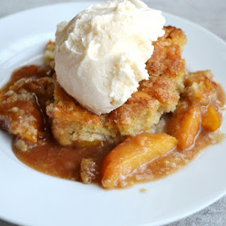 Peach Cobbler With Crumb Crust Recipes
