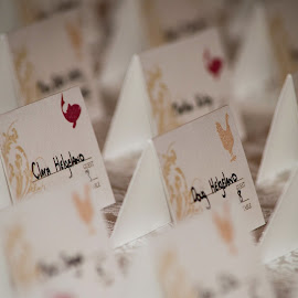 Chicken or Fish by Angelo Pineda - Wedding Other ( chicken, wedding, fish, seatting, placement cards )