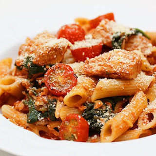 Tuna and Spinach Penne