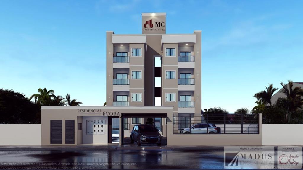Apartamento com 2 dormitórios à venda, 48 m² por R$ 130.000,00 - Joaia - Tijucas/SC