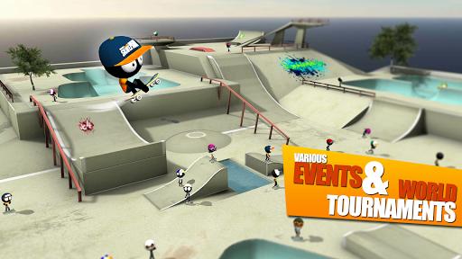 Stickman Skate Battle screenshot 14