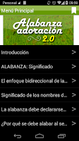 Screenshot of Alabanza y Adoracion 2.0